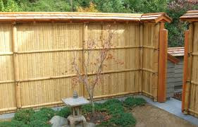 fence bamboo fence home depot reed fencing lowes fencing menards