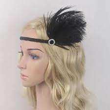 flapper headband diy feather flapper headband 1920s great gatsby headdress headpiece