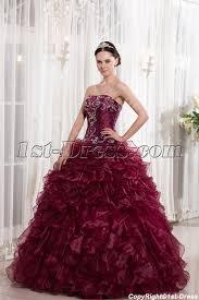 burgundy quince dresses beaded burgundy quinceanera dresses 2014 1st dress