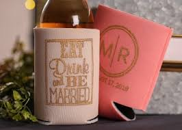wedding can koozies koozies can coolers from 14 start your custom order now