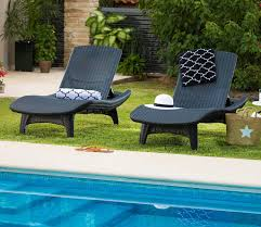 In Pool Chaise Lounge Outdoor Chaise Lounge The Garden And Patio Home Guide
