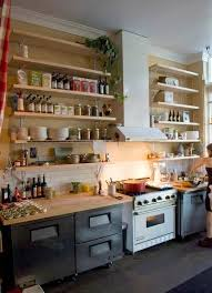 kitchen shelving great open kitchen shelving that will inspire you apartment therapy