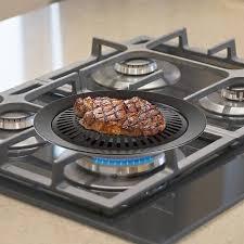 stove top chef buddy smokeless indoor stove top grill walmart