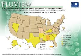 Weather Map United States by Cdc Seasonal Influenza Flu Weekly Report Influenza Summary
