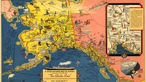 A Picture Of The Map Of The United States by The United States Formally Takes Possession Of Alaska From Russia