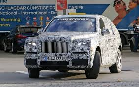 forget the cullinan rolls royce will give its suv a different name