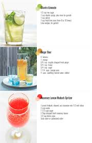 summer drink recipes freutcake