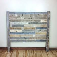 Pallet Wood Headboard Reclaimed Wood Headboard Barn Wood Pallet Furniture