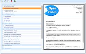 take a byte online bookings and crm