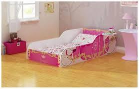bedroom cute princess carriage bed for cozy kids bedroom design