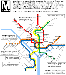 Dca Metro Map by Communication Is Everything On U201cblue Line Realignment U201d A K A The