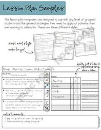 here u0027s an editable guided math lesson template math workshop