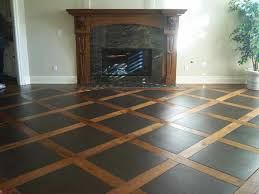 plywood flooring ideas stenciled pattern plywood floor plywood