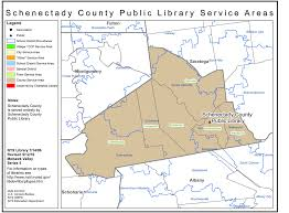 County Map New York by Schenectady County Find Your Public Library In New York State