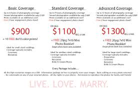 wedding photographer prices wedding photography packages 14 wedding checklist