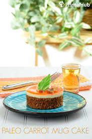 paleo carrot mug cake primal hub