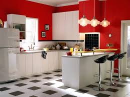 black and white kitchen cabinets red n white kitchen cabinets ideas small with u shaped glossy and
