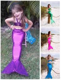 Inexpensive Children S Clothing Children Costumes Mermaid Tail Swimwear 3 14 Year Kids Swimwear