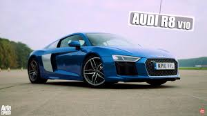 Audi R8 V10 - mercedes amg gt s and audi r8 v10 go head to head with surprising