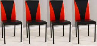 Red Dining Chair Modernique Furniture Store Buy For Less With Fast U0026 Free Delivery