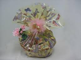 Beautifully Wrapped Gifts - gift baskets for mom
