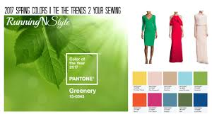 pantone colors of the year 2017 2017 spring colors pt 1 tie the trend 2 your sewing