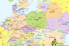 Map Of Central Europe Download Eastern Europe Map With Cities Major Tourist