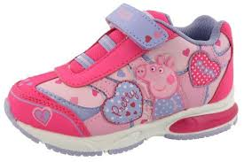 light up shoes for sale best design peppa pig light up velcro shoes pink direct
