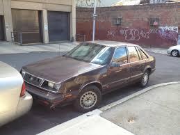 curbside classic 1985 89 chrysler lebaron gts u2013 hatchback setbacks
