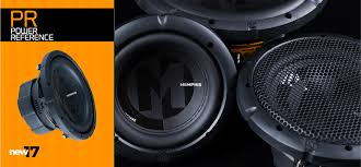 power reference subwoofers memphis car audio