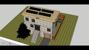 janice u0027s sustainable house design on google sketchup youtube