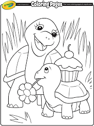 spring free coloring pages crayola