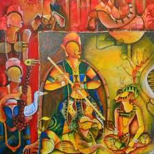 artsnyou the invincible painting buy art online anupam pal