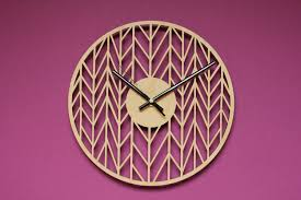 Unique Clocks Geometric Clocks Unique Wall Clocks Modern Clock Modern