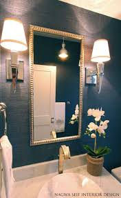 Bathroom Accents Ideas by Top 25 Best Small Bathroom Wallpaper Ideas On Pinterest Half