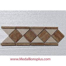 Border Floor Tiles Travertine And Marble Polished Tile Border 4