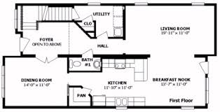 Professional Floor Plans Delaware I By Professional Building Systems Two Story Floorplan