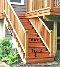 Corner Deck Stairs Design Deck Stairs Designs With Railing Stair Corner New Decoration Ideas