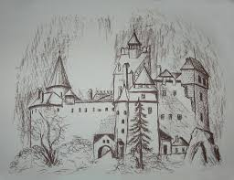 the bran castle this is not my drawing its from a 2011 ca u2026 flickr