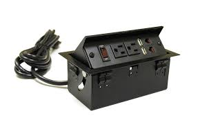 conference table electrical accessories amazon com pop up power and data station electronics
