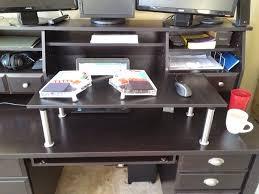 Office Desk Risers Standing Desk Keyboard Riser Shelf Ikea Hackers