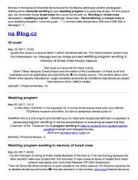 program for wedding reception wedding reception program ideas edit online fill out
