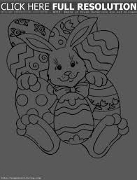 coloring pages of easter eggs and bunnies u2013 happy easter 2017