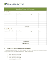 40 cost benefit analysis templates examples template lab