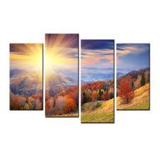 aliexpress com buy 4 panels no frame drop shipping home decor