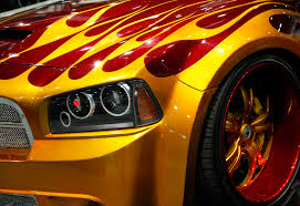 custom paint ideas at sema the good bad and ugly rod blog