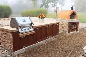 outdoor kitchen cabinet doors diy how to make concrete countertops for outdoor kitchens