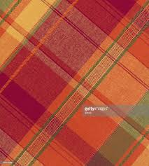 warm tone plaid fabric stock photo getty images