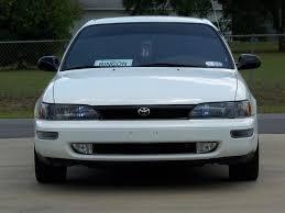 1996 toyota corolla front bumper diy diy front bumper fog lights with hid s corolla 93 97 trd
