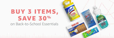 Household Essentials List Amazon Save 30 On Select Everyday Essentials When You Buy 3